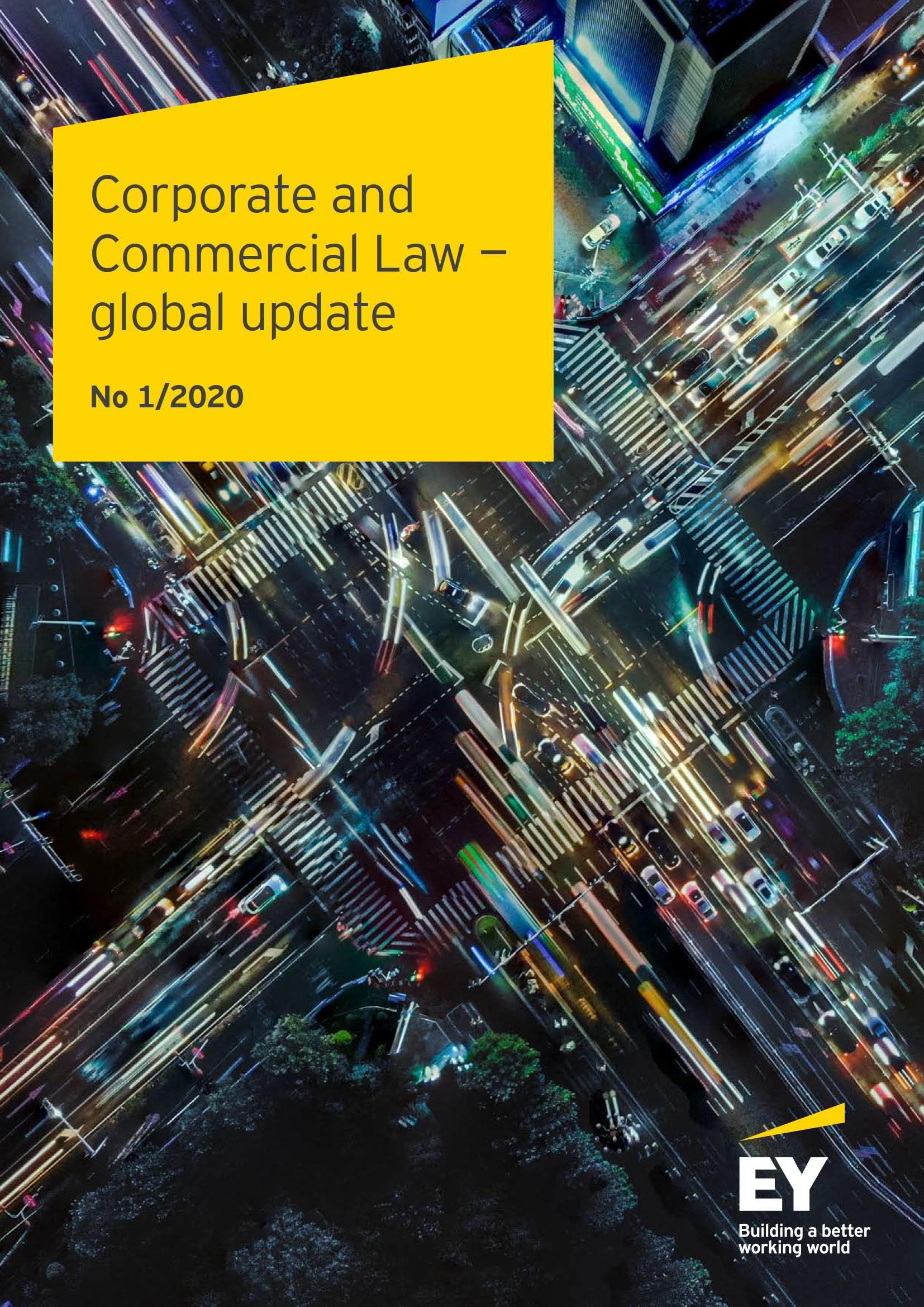 公司法和商法 – 全球更新, 2020年第一版