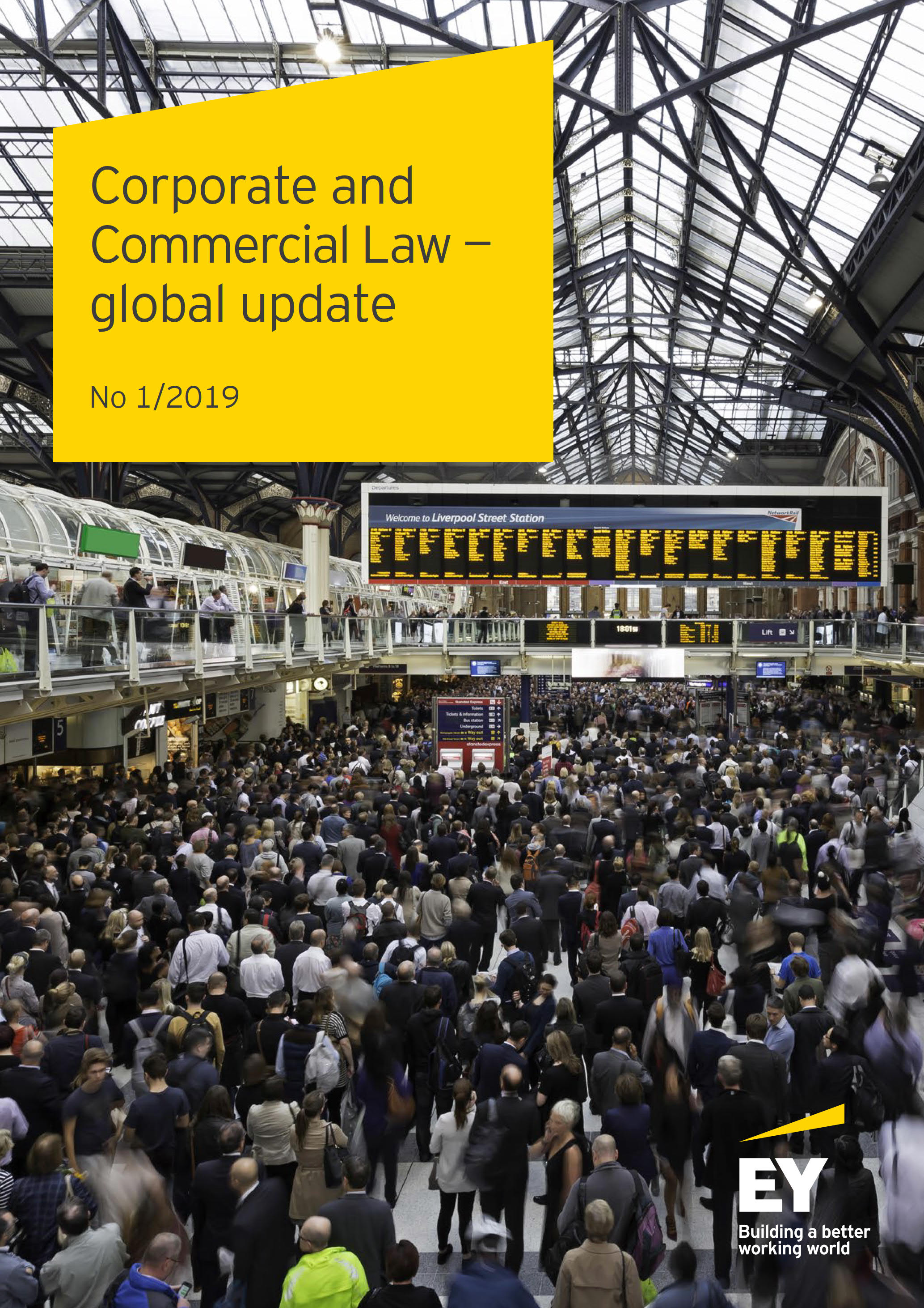 Corporate and Commercial Law – global update No 1/2019