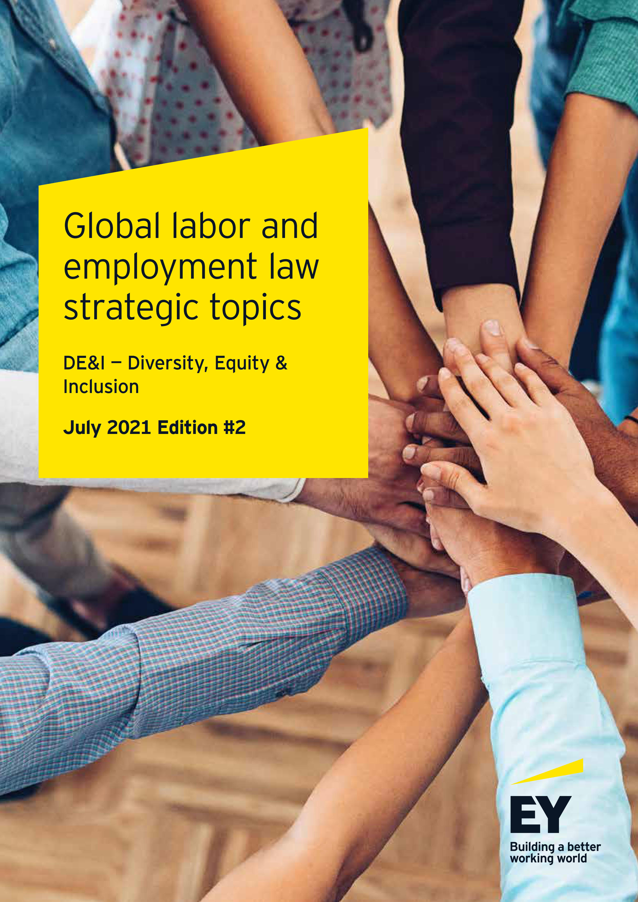 Global labor and employment law strategic topics: DE&I — Diversity, Equity & Inclusion, July 2021