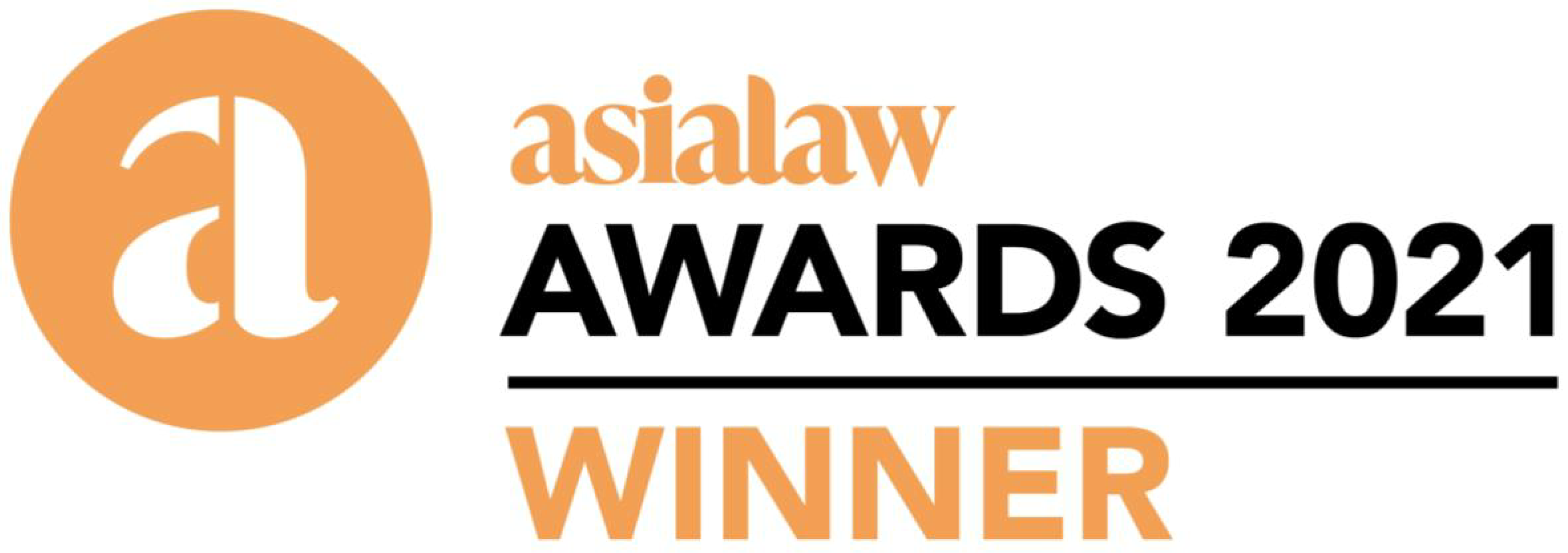 Winner of Hong Kong Client Service Excellence Award at asialaw Awards 2021
