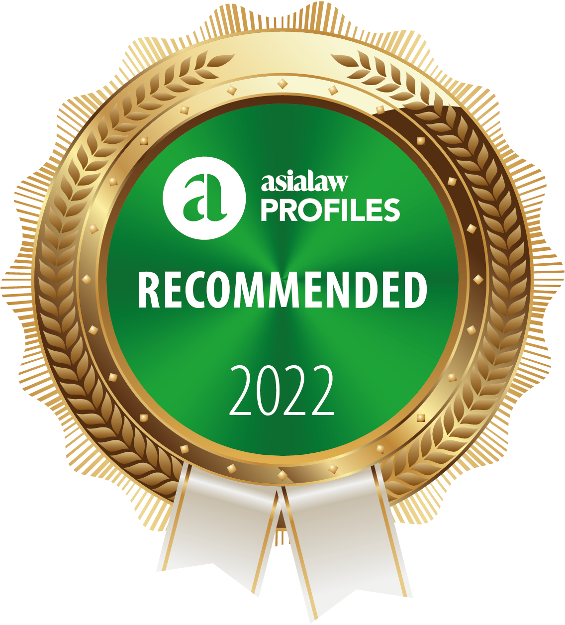 """Ranked """"Recommended Firm"""" in Capital Markets by Asialaw Profiles 2022"""
