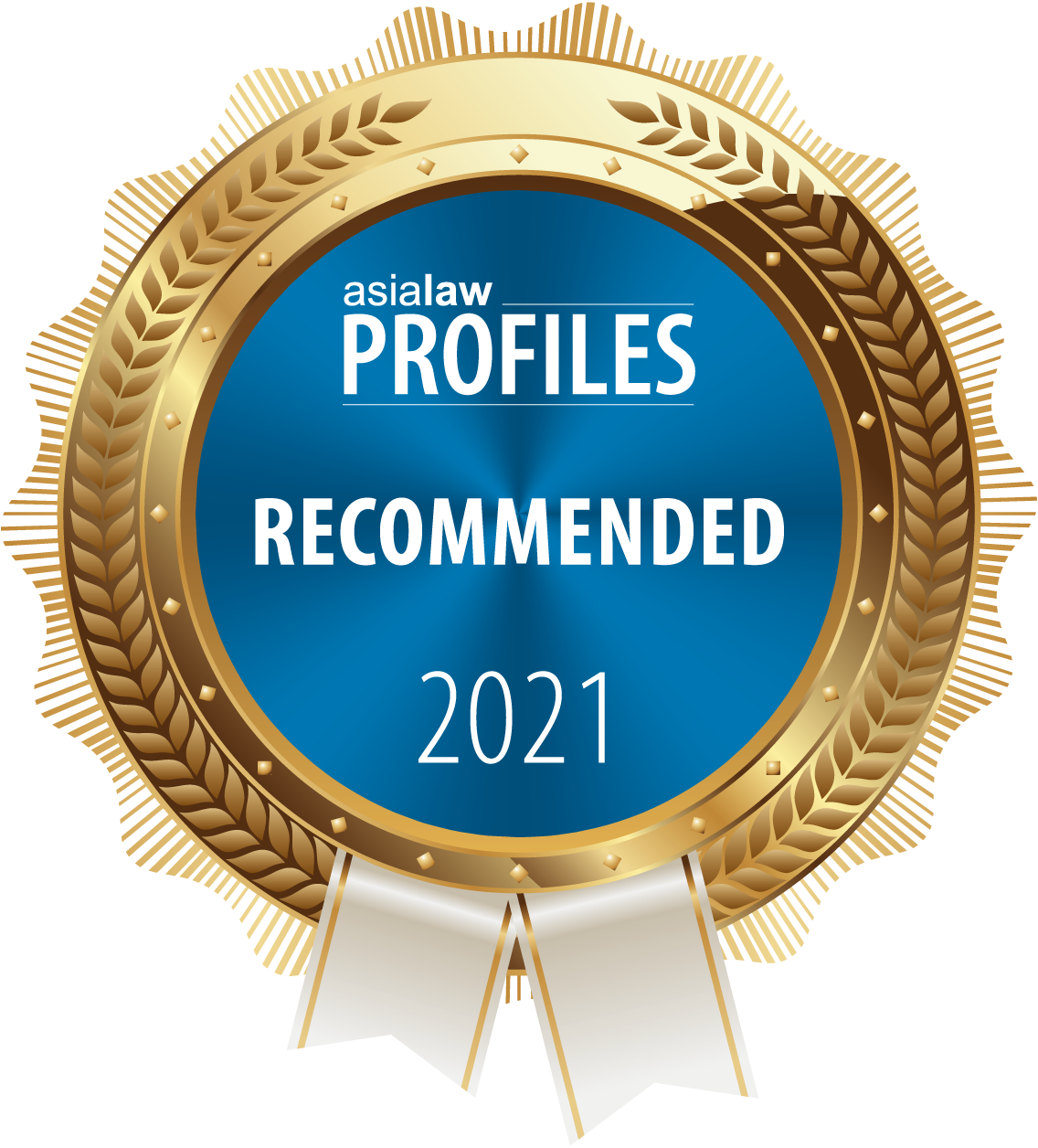 "Ranked ""Recommended"" Firm by Asialaw Profile 2021"